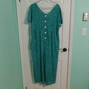 😻 Vintage plus size jumpsuit!!